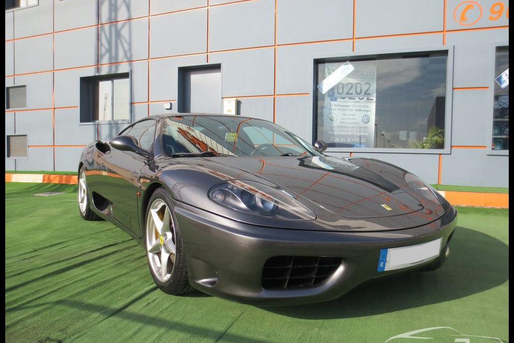 Cambio de color Ferrari 360 Módena