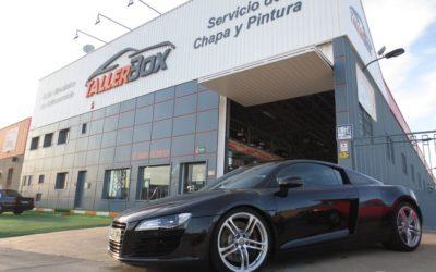Detallado corrección severa Audi R8