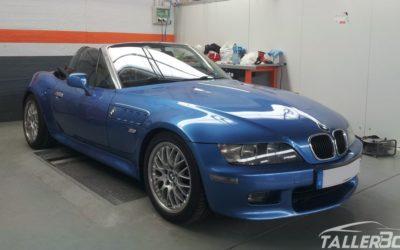Reparación puente trasero BMW Z3