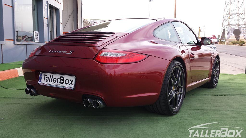 Instalación protecciones radiadores Porsche 911 (997 mk2)