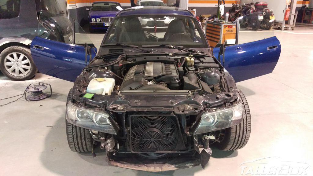 Cambio de color BMW Z3 Coupe