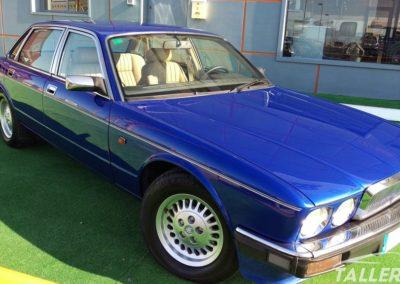 Acabado exterior restauración Jaguar XJ