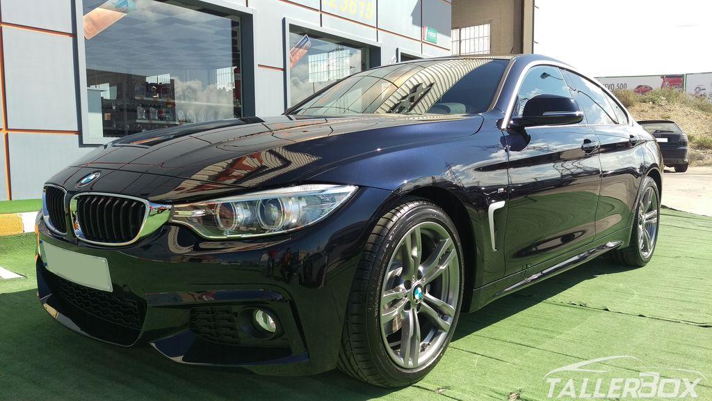 Detallado coche nuevo BMW Serie 4 GranCoupe