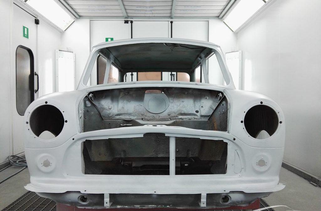 Restauración MINI clásico – en proceso