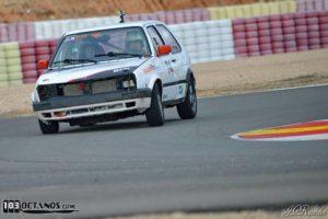 VW Golf GTI II en el Circuito de Albacete