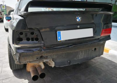BMW siniestro total