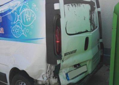 Renault Traffic - siniestro total