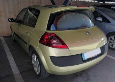 Renault megane reparado