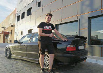 Cliente satisfecho - BMW siniestro total