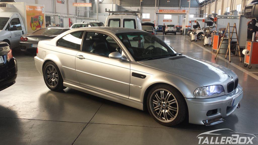 Instalación autoblocante y escape BMW M3