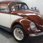 VW Escarabajo clásico restaurado