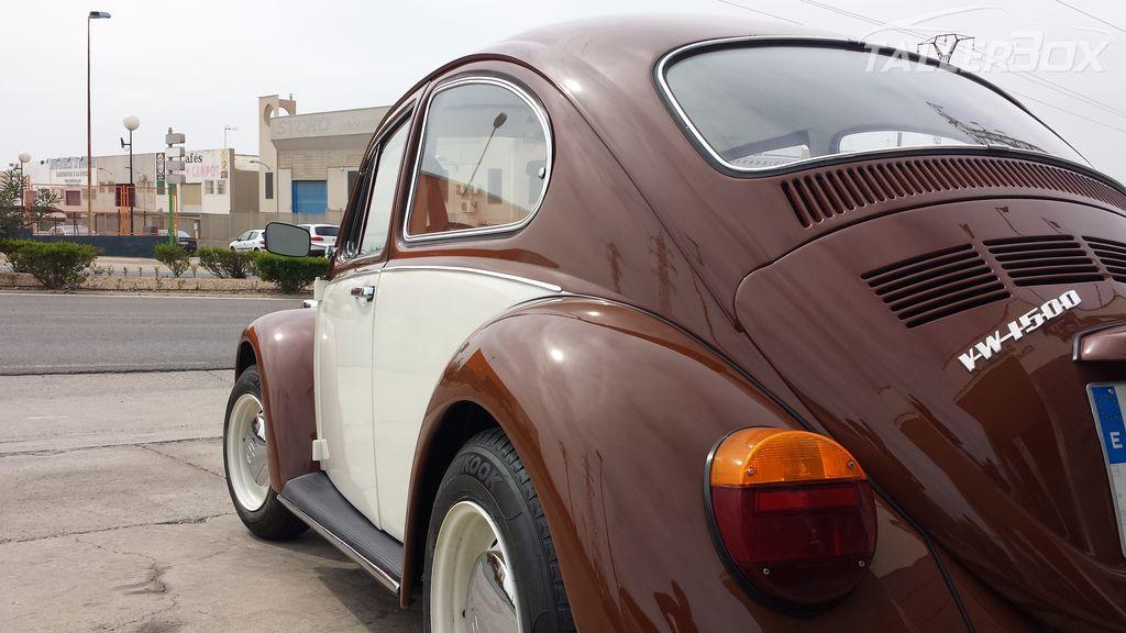 Restauración Escarabajo del '68