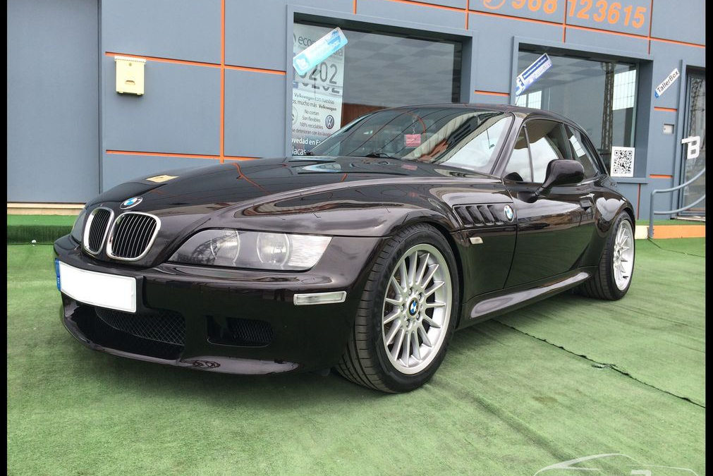 BMW Z3 Coupe 3.0 Rubinschwarz