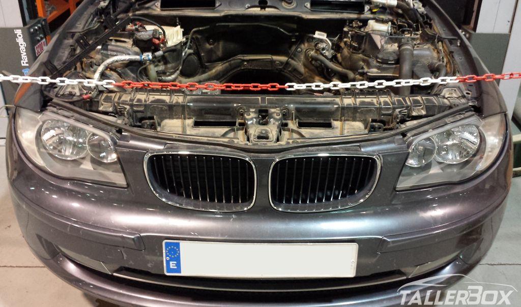 Sustitución cadena distribución BMW Serie 1 (N47)