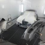 Cambio de color BMW Z3 Coupe. Proceso de pintado en gris sterlinggrau