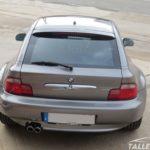 Cambio de color BMW Z3 Coupe. Aspecto final en gris sterlinggrau