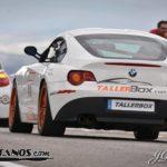 BMW Z4 M en el Pit Lane del Circuito de Guadix