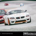 BMW Z4 M rodando en pista de Guadix
