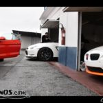 BMW Z4 M en los boxes del Circuito de Guadix