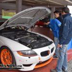BMW Z4 M en boxes