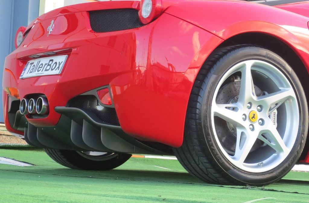 Sellado de Llantas Ferrari 458 Italia