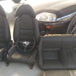 Tapizado en cuero Toyota Supra