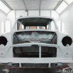 Restauración MINI en cabina de pintura