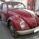 Restauración escarabajo Murcia