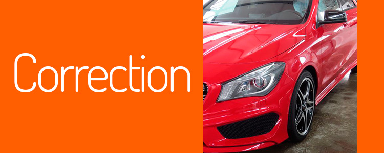 Detallado de corrección para eliminar los swirls de la pintura de su coche.