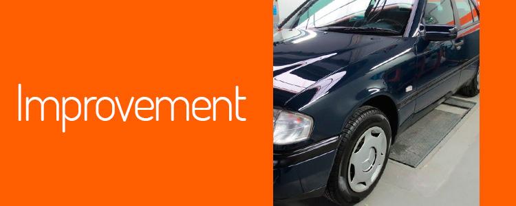 Detallado de mejora para recuperar el brillo de su vehículo.