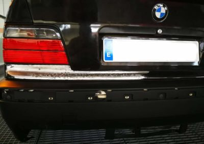 BMW siniestro total en reparación