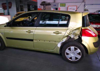 Renault Megane - siniestro total