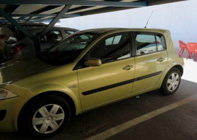 Renault megane reparado tras siniestro total