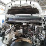 Extracción de motor Opel Vivaro