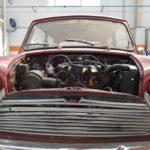 Motor Mini Cooper clásico