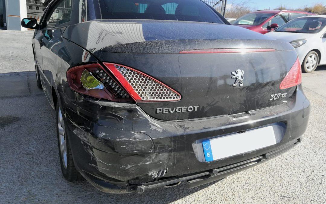 Caso de éxito – Peugeot 307 CC siniestro total!!!