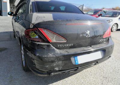 Siniestro total Peugeot 307 cc